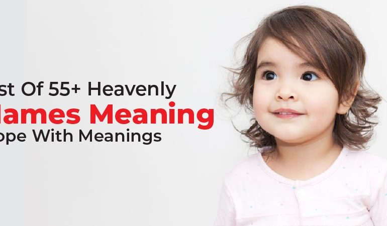 Names That Mean Hope